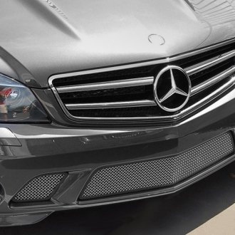 RaceMesh® - 3-Pc Standard Weave Electro Polished Mesh Bumper Grille