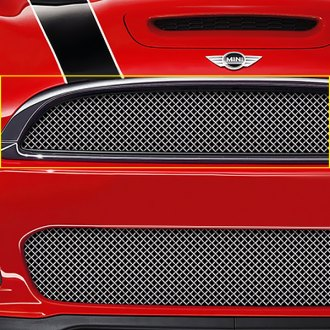 RaceMesh® - 1-Pc Standard Weave Electro Polished Mesh Main Grille