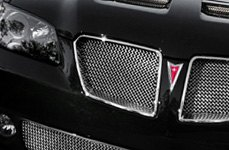 Aftermarket RaceMesh Grille on Pontiac