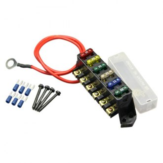 Racetronix® - 10AWG I/P ATC 6-Position Fuse Block