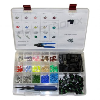 Racetronix® - Professional Mini-Fuse and Connector Kit