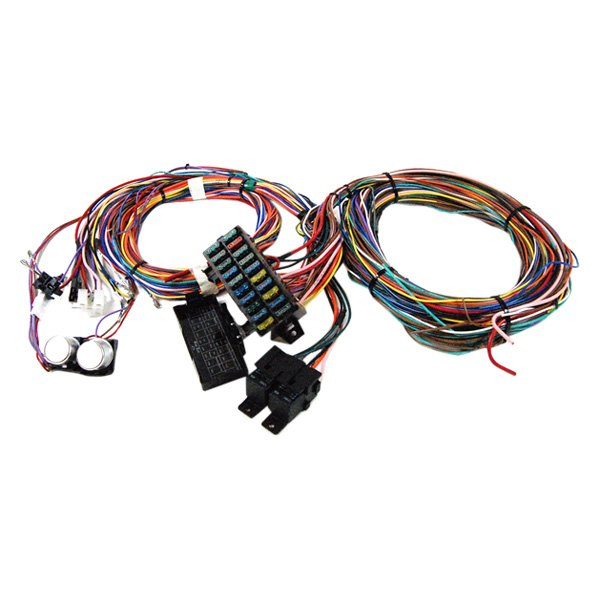 racing power company r1002 wire harness kit rh carid com racing wiring harness for cars racing wiring harness for cars