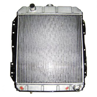 Racing Power Company® - Aluminum Radiator with Transmission Cooler
