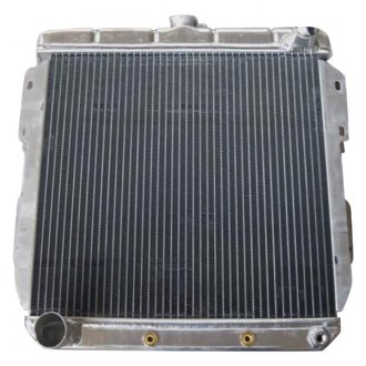 Racing Power Company® - Vertical Flow Radiator with Transmission Cooler