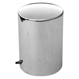 Racing Power Company® - Chrome Steel Oil Filter Cover