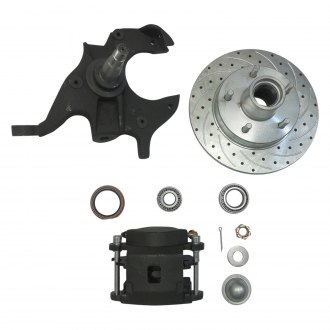Racing Power Company® - Brake Rotor Disc with Caliper & Spindle Kit