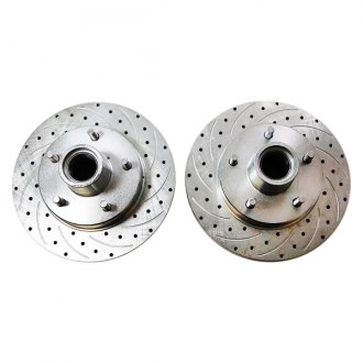 Racing Power Company® - Drilled & Slotted Disc Brake Rotor