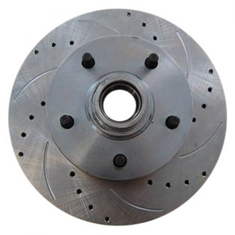 Racing Power Company® - Drilled & Slotted Disc Brake Rotors