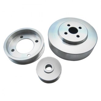 Racing Power Company® - Fox-Body Serpentine Pulleys Set