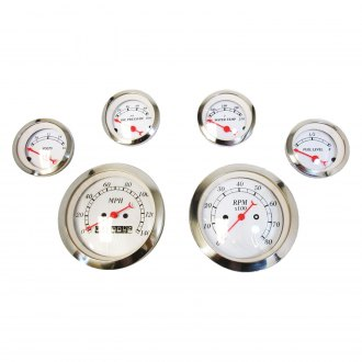 Racing Power Company® - Mechanical 6-Gauge Set