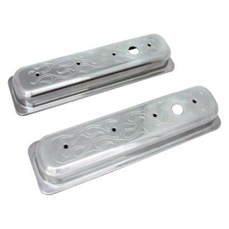 Racing Power Company® - Aluminum Center Pull Baffled Valve Cover