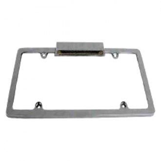 Racing Power Company® - License Plate Frame with License Plate Light