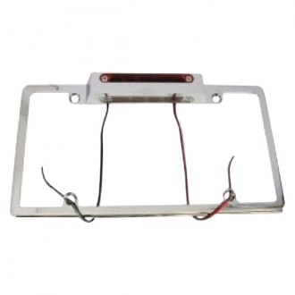 Racing Power Company® - License Plate Frame with LED Third Brake Light