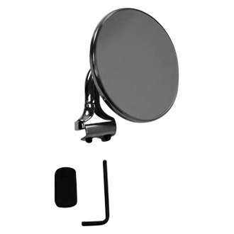 Racing Power Company® - Chrome Steel Peep Round Mirror
