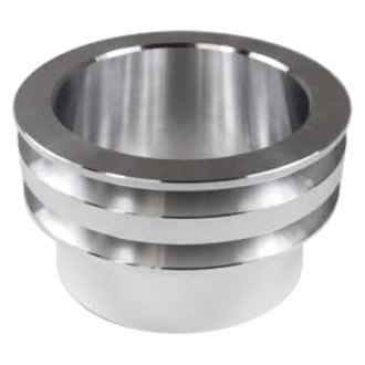 Racing Power Company® - Double Groove Billet Aluminum Crankshaft Pulley