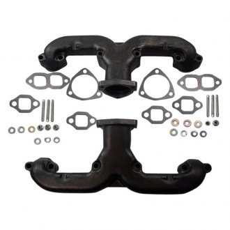 Racing Power Company® - Classic Cast Iron Ram Horn Exhaust Manifold Kit