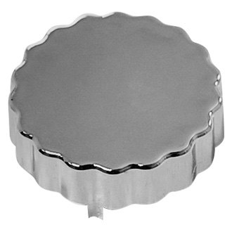 Racing Power Company® - Steering Pump Dipstick Chrome Cap Cover