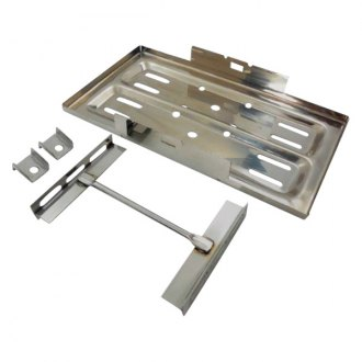 Racing Power Company® - Stainless Steel Battery Tray Kit