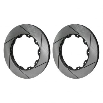 RacingBrake® - Slotted Iron 2-Piece Front Brake Rotor Rings