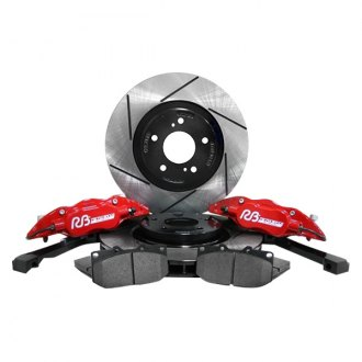 RacingBrake® - 1 Piece Rotor Upgraded Brake Kit