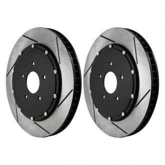 RacingBrake® - Open Slot Iron 2-Piece Brake Rotors