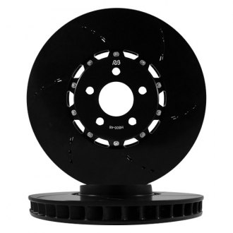 RacingBrake® - Open Slot 2-Piece Front Brake Rotors