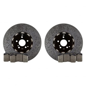 RacingBrake® - 2-Piece Carbon Ceramic Front Rotors