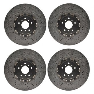 RacingBrake® - 2-Piece Carbon Ceramic Rotors