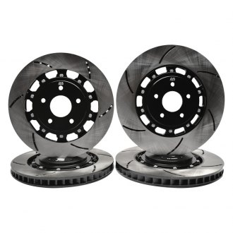 RacingBrake® - Open Slot 2-Piece Iron Rotor