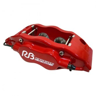 RacingBrake® - 4-Piston Red Caliper