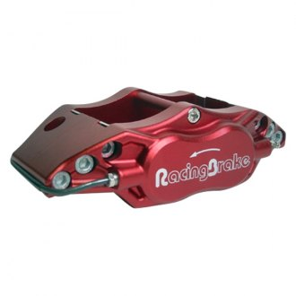 RacingBrake® - 4-Piston Red Calipers