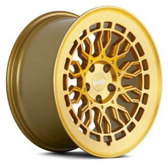 RADI8® - R8A10 Gold with Brushed Face