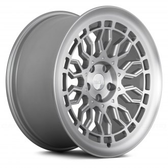 RADI8® - R8A10 Matte Silver with Machined Face