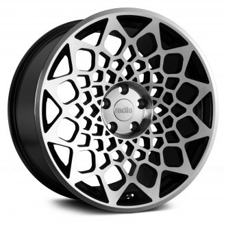 RADI8® - R8B12 Black with Machined Face