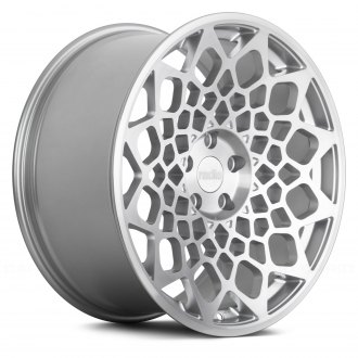 RADI8® - R8B12 Matte Silver with Machined Face