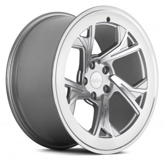 RADI8® - R8C5 Matte Silver with Machined Face