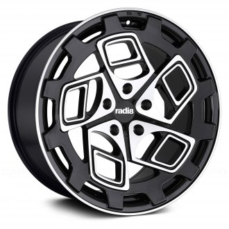 RADI8® - R8CM9 Black with Machined Face