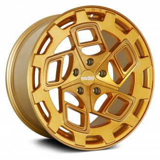 RADI8® - R8CM9 Gold with Brushed Face
