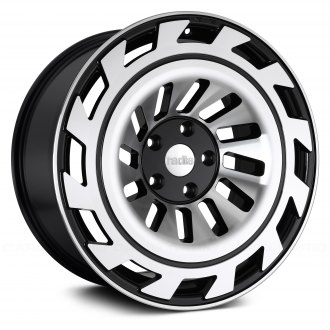 RADI8® - R8T12 Black with Machined Face