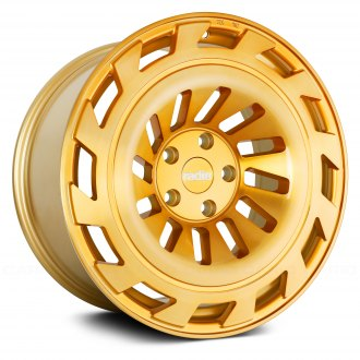 RADI8® - R8T12 Gold with Brushed Face