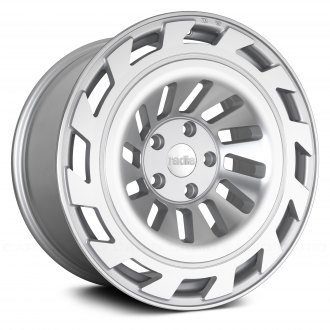 RADI8® - R8T12 Matte Silver with Machined Face