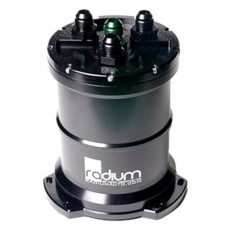 Radium® - Fuel Surge Tank for External Pump with Single Pickup Tube