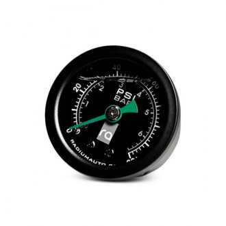 Radium® - Black Face Fuel Pressure Gauge