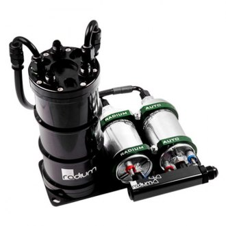 Radium® - Dual External Pump Fuel Surge Tank