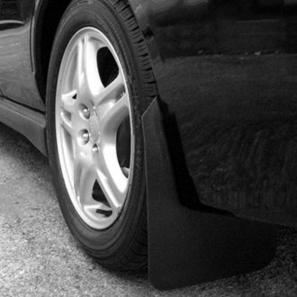 Rally Armor® - Basic Series Black Mud Flap Kit with Rally Armor Logo