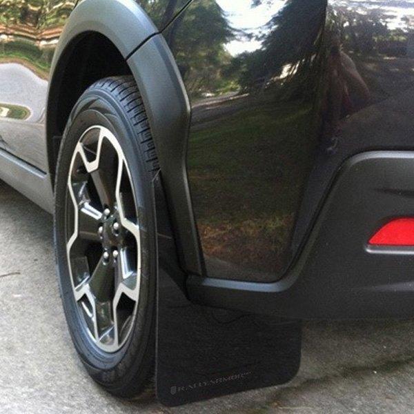 Semi Mud Flaps >> Rally Armor® - Subaru Crosstrek 2017 UR Series Mud Flap ...
