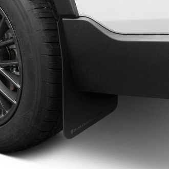 Rally Armor® - Basic Series Black Mud Flaps with Black Logo