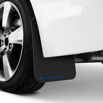 Rally Armor® - UR Series Black Mud Flaps with Blue Logo