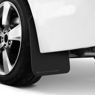 Rally Armor® - UR Series Black Mud Flaps with Gray Logo