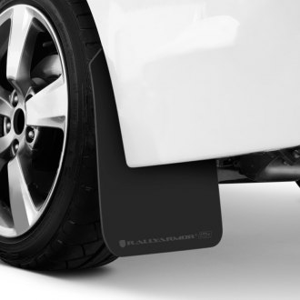 Rally Armor® - UR Plus Series Black Mud Flaps with Gray Logo
